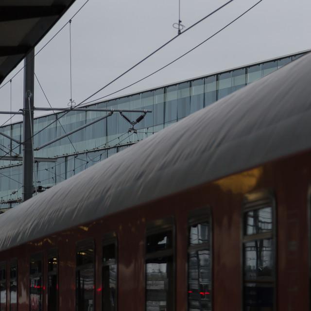"""Swiss Train"" stock image"