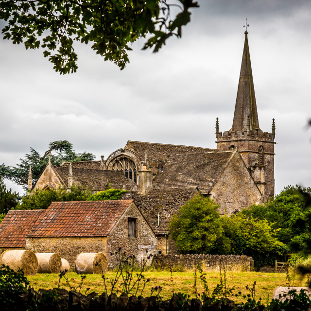 """""""Church View"""" stock image"""