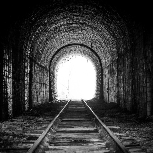 """Tunnel"" stock image"