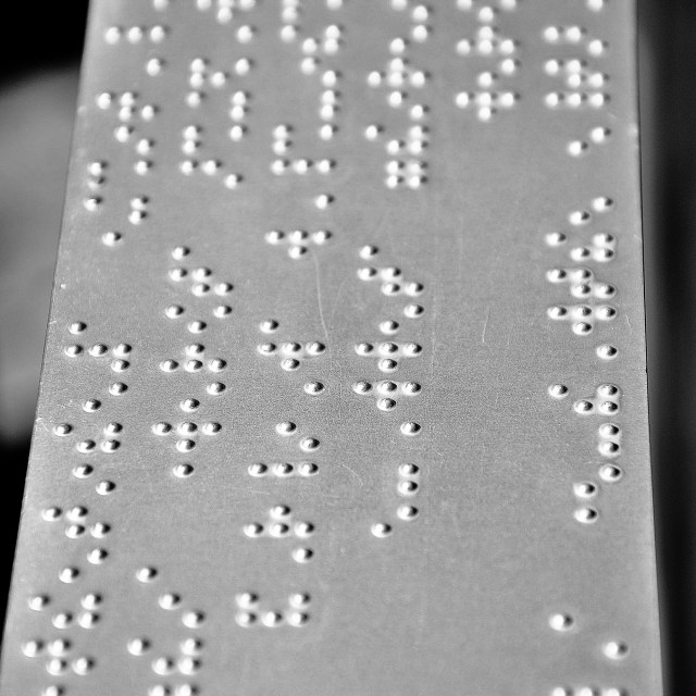 """Braille"" stock image"
