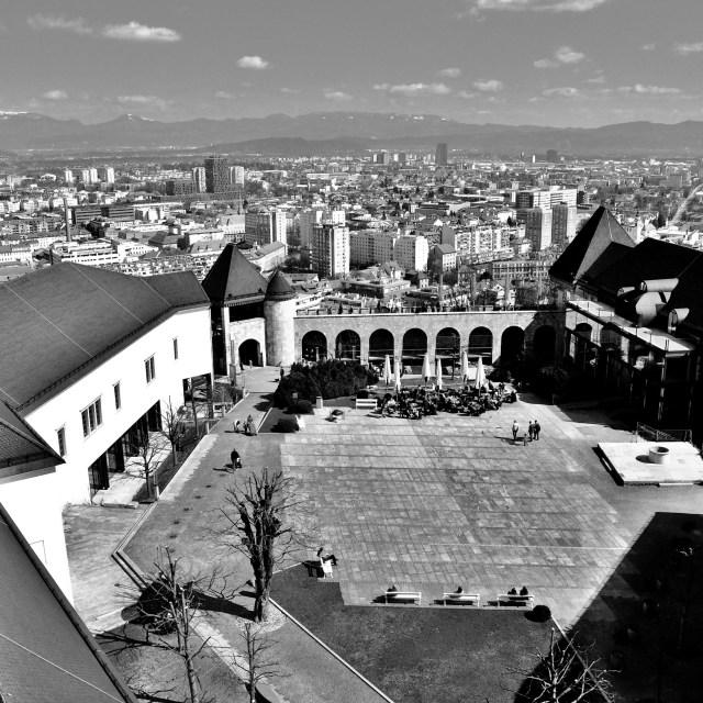 """""""Ljubljana Castle"""" stock image"""