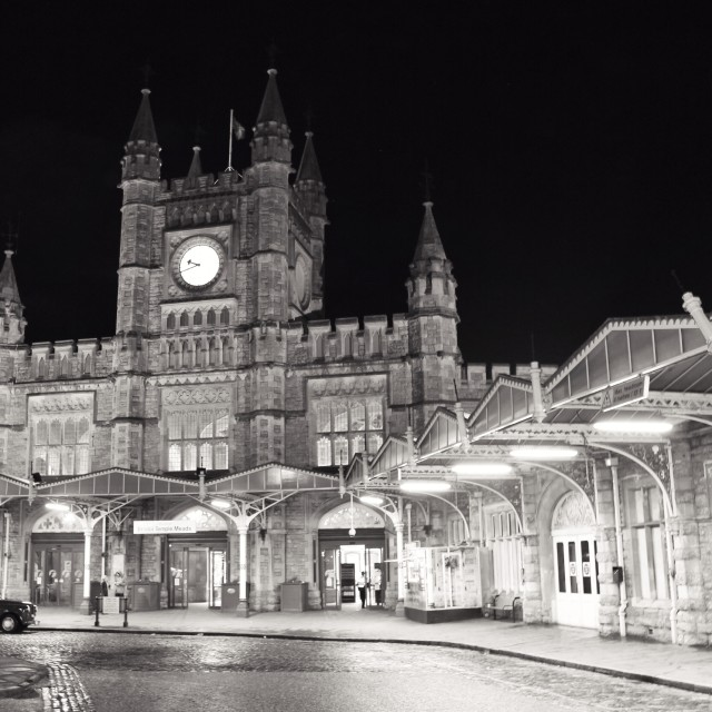 """""""Bristol Temple Meads Station"""" stock image"""
