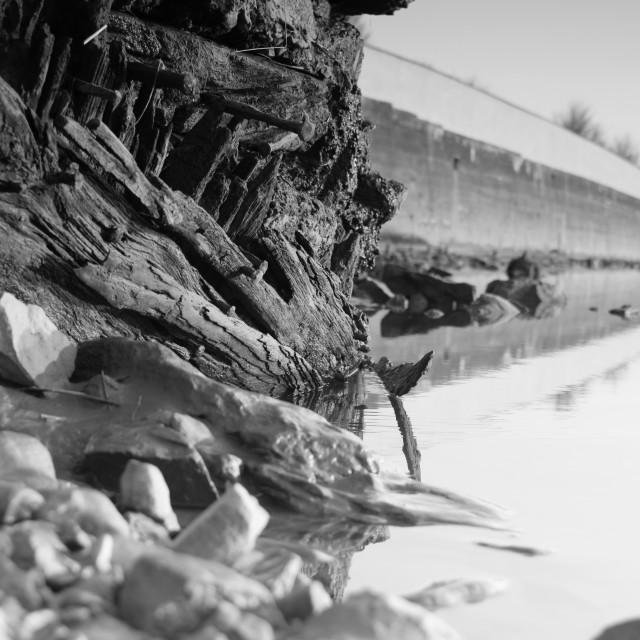"""""""River Concrete"""" stock image"""