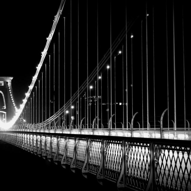 """""""Clifton Suspension Bridge"""" stock image"""