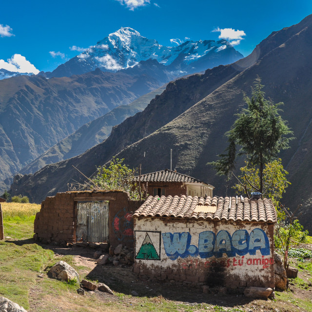 """Camicancha Sacred Valley"" stock image"