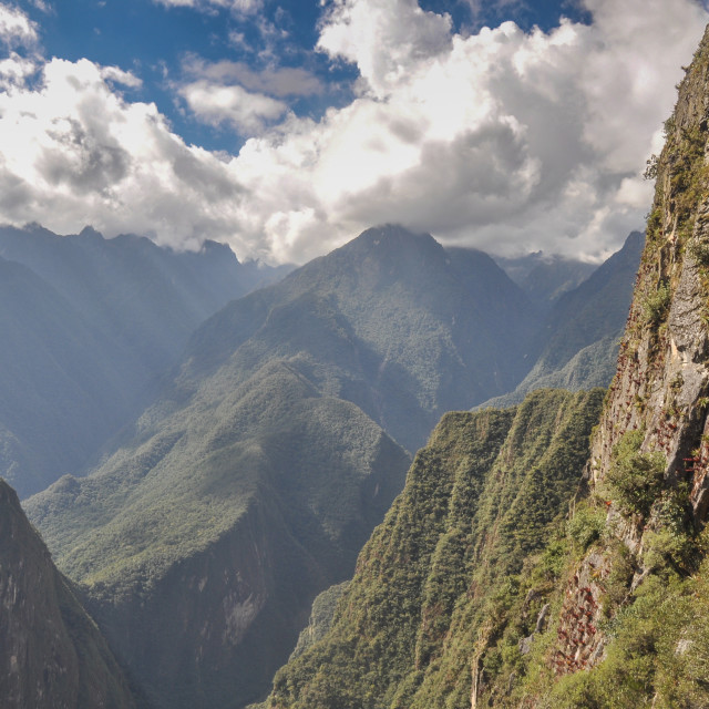 """""""Andes Panorama"""" stock image"""