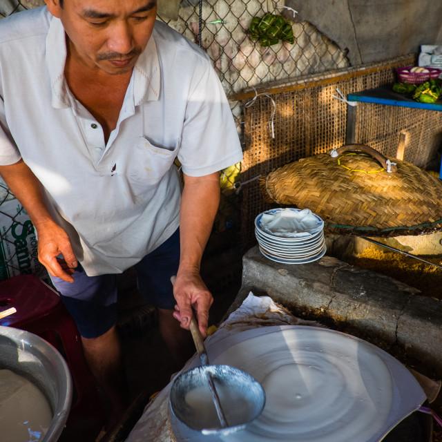 """""""Vietnamese pancake"""" stock image"""