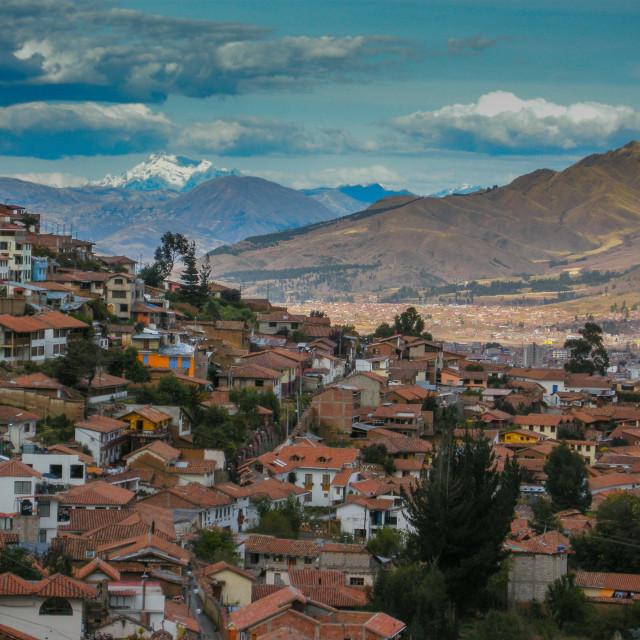 """Cuzco"" stock image"