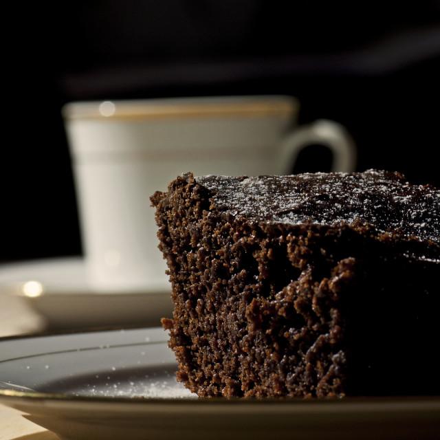 """Chocolate Brownie"" stock image"