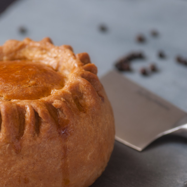 """Pork Pie"" stock image"