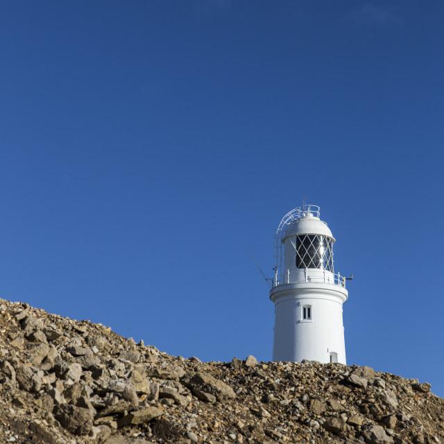 """Portland Bill Lighthouse, Weymouth, Dorset, UK"" stock image"