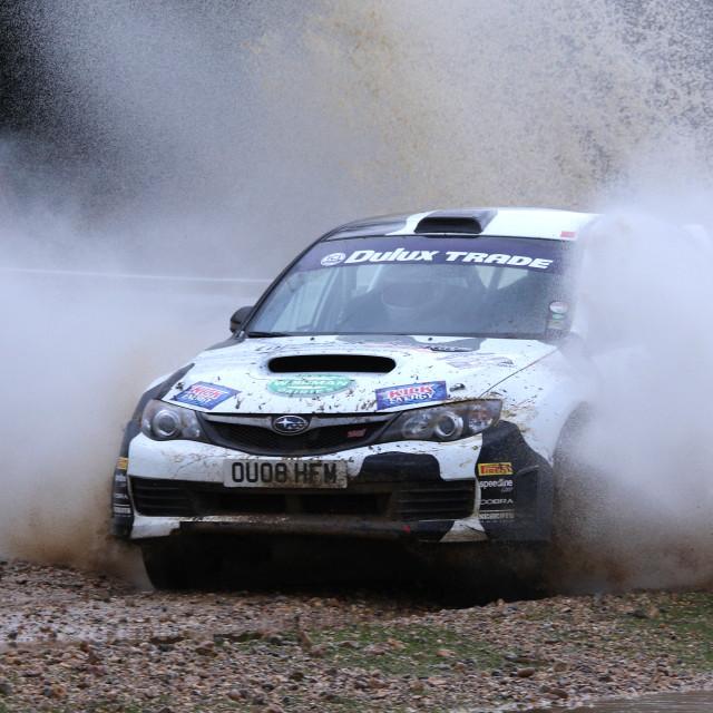 """Rally car"" stock image"