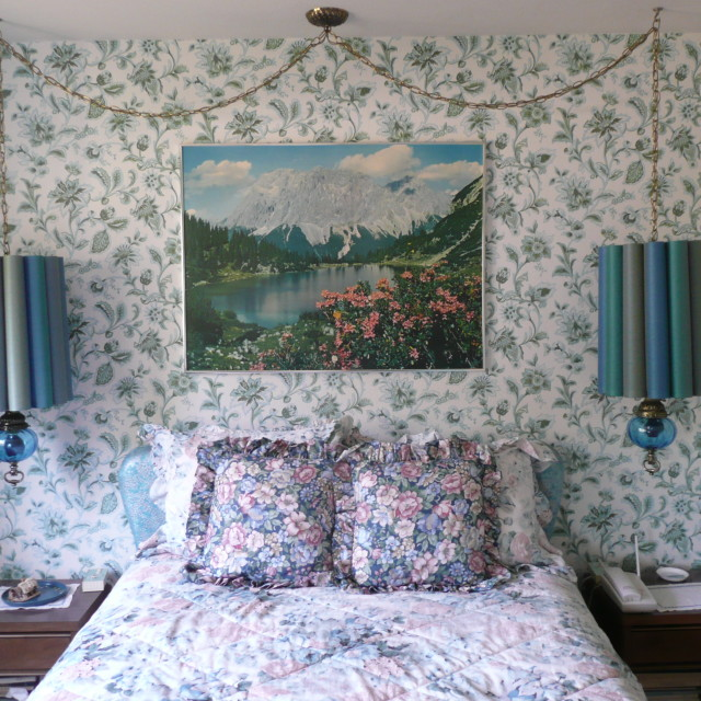 """English bedroom"" stock image"
