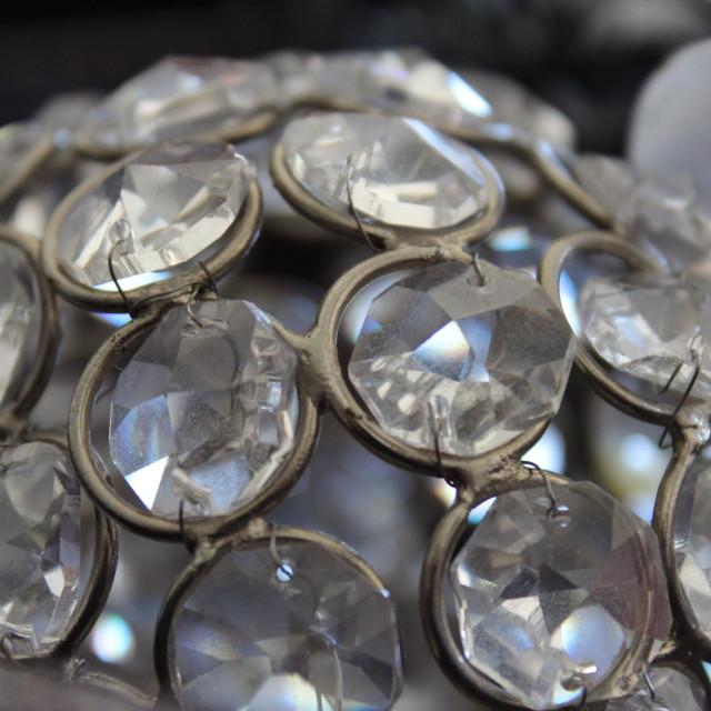 """Glass & Ribbon"" stock image"
