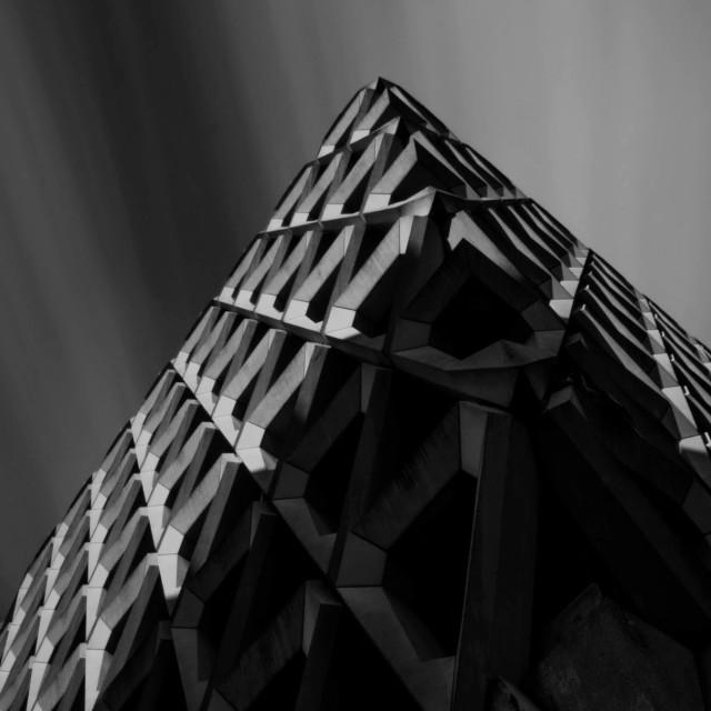 """""""Urban Pyramid"""" stock image"""