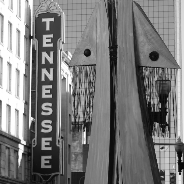 """Tennessee Art"" stock image"