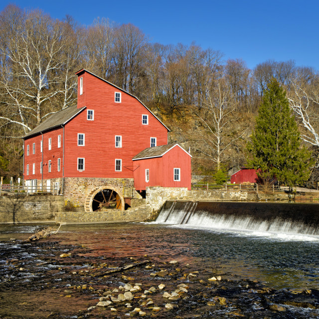 """Red Mill"" stock image"