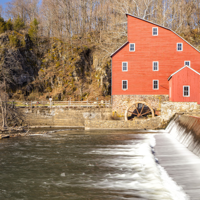 """""""Red Mill"""" stock image"""