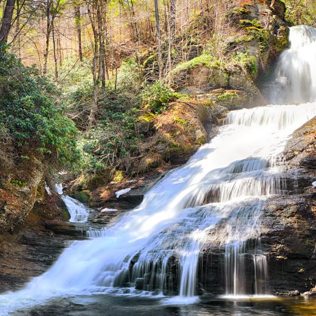 """Dingmans Falls"" stock image"