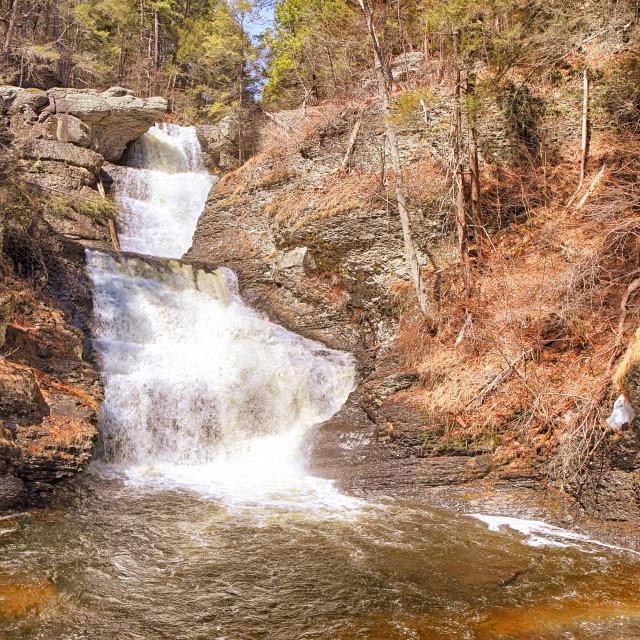 """Raymondskill Falls"" stock image"