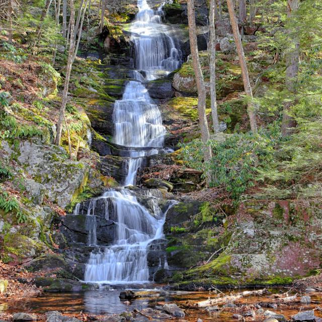 """Buttermilk Falls"" stock image"