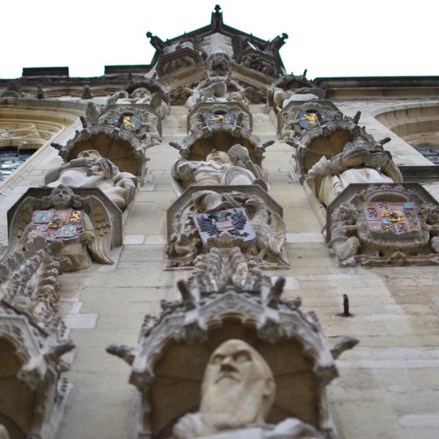 """Burg square"" stock image"