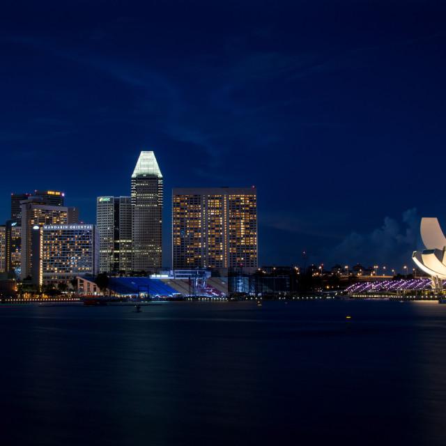 """Singapore Marina Bay Sands"" stock image"