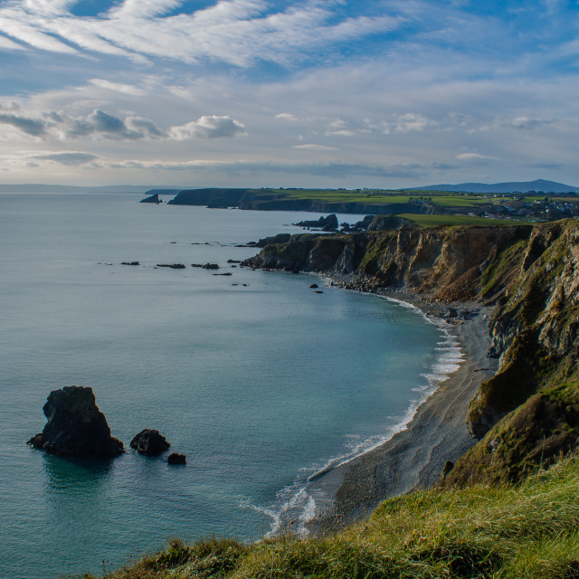 """Copper Coast, Waterford"" stock image"