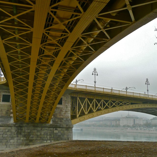"""Budapest Bridge"" stock image"