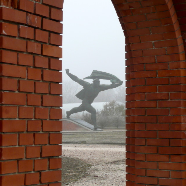"""Memento Park Budapest"" stock image"