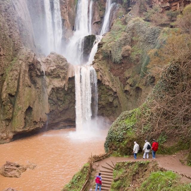 """""""Ouzoud Waterfalls Morocco"""" stock image"""