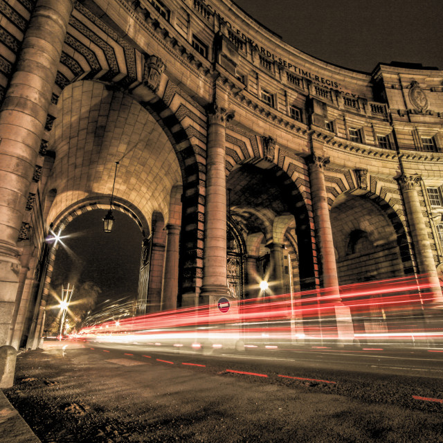 """Underneath the Arches"" stock image"