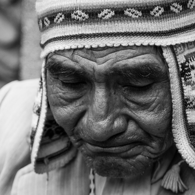 """Inka priest"" stock image"