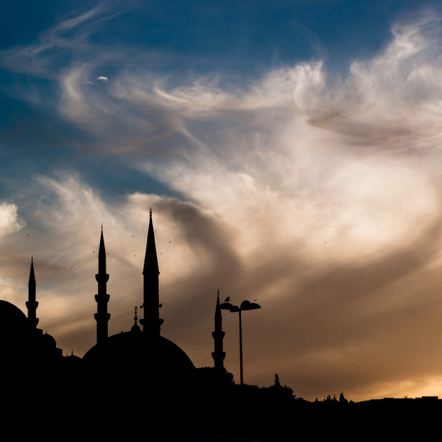 """Istanbul sky"" stock image"
