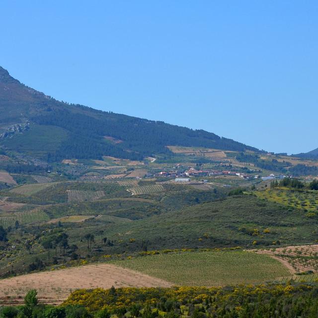 """Village of Tras-os-Montes."" stock image"