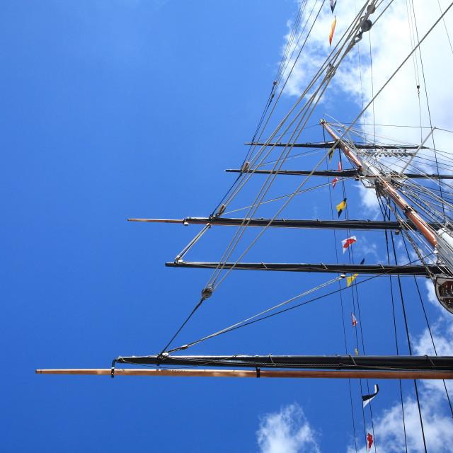 """""""Ship mast"""" stock image"""
