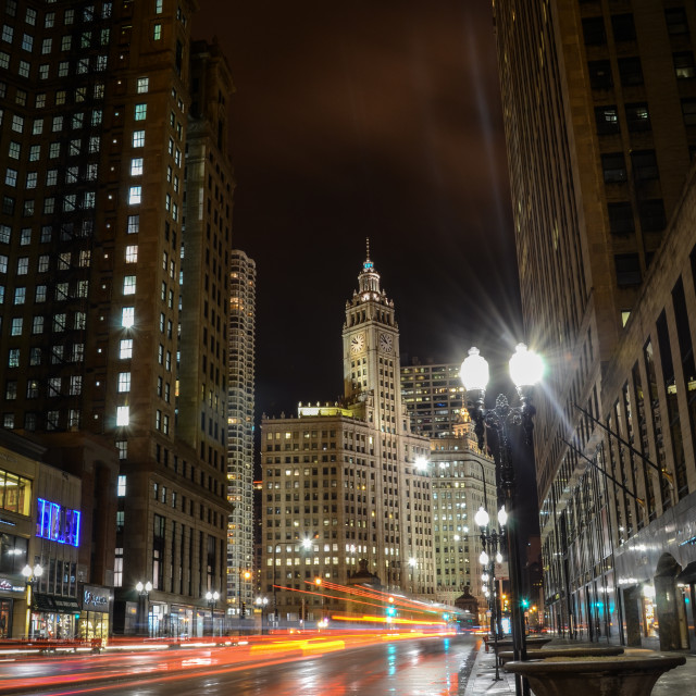 """Downtown Chicago"" stock image"