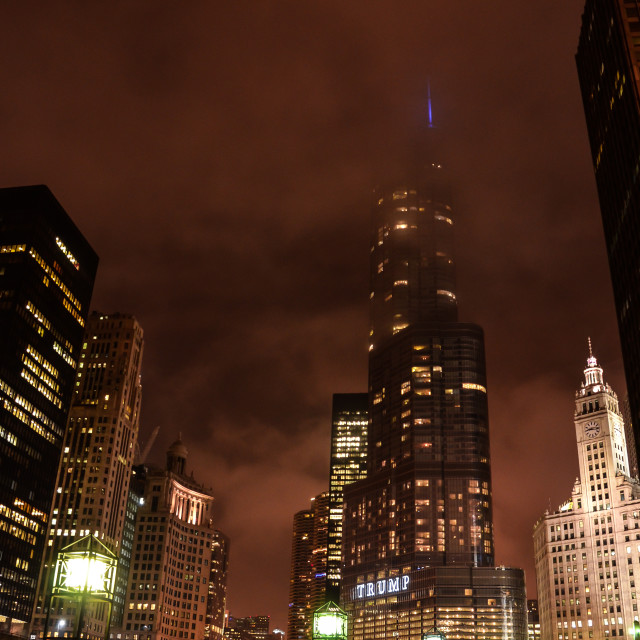 """Chicago Lights"" stock image"