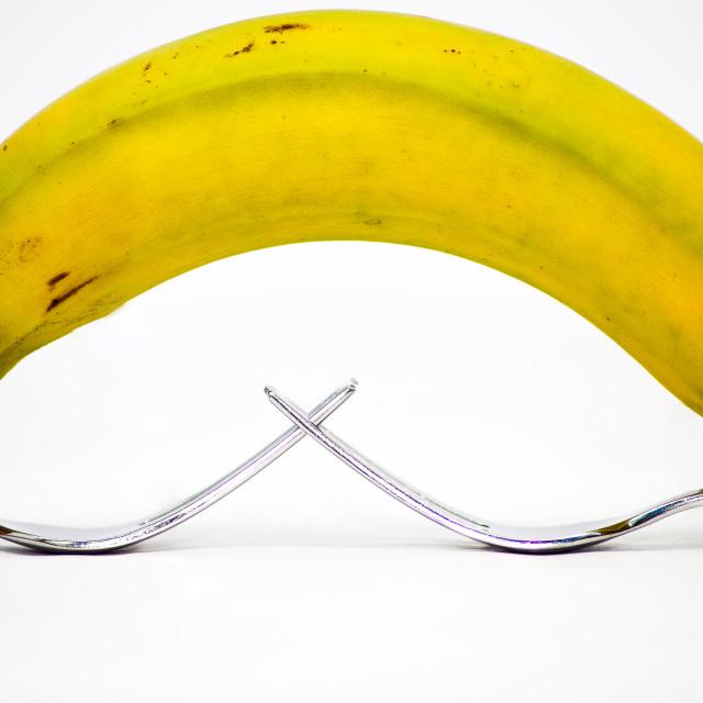 """""""Balancing Banana"""" stock image"""