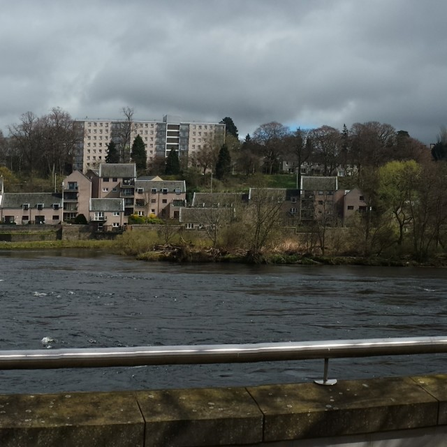 """River Tay, Perth"" stock image"