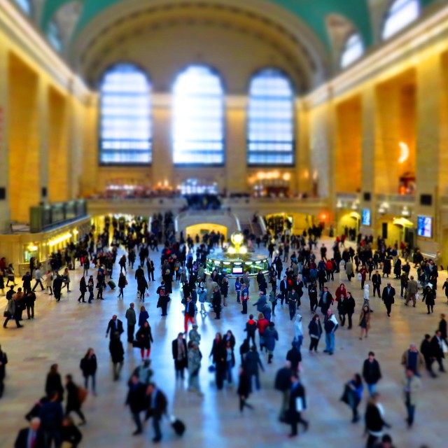 """Grand Central Station Miniature"" stock image"