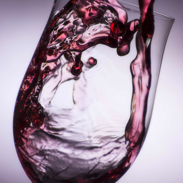 """Pouring wine"" stock image"