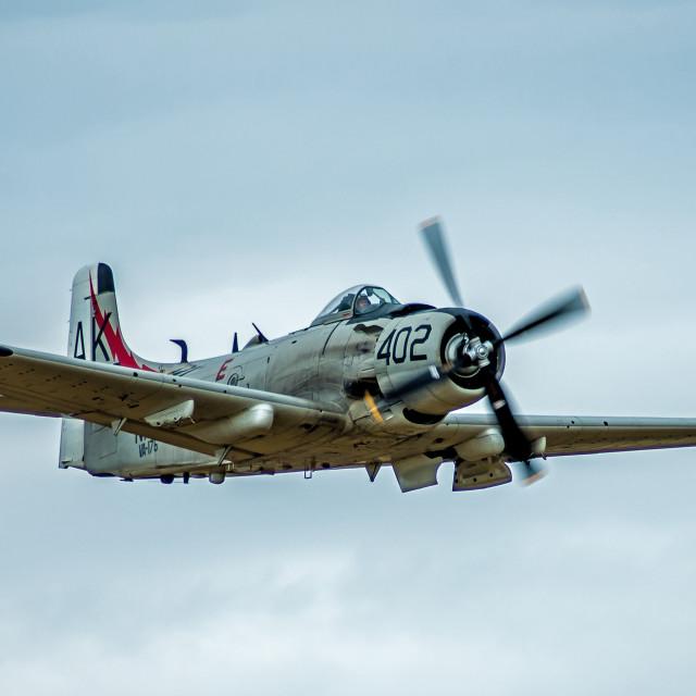 """Douglas A1 Skyraider"" stock image"