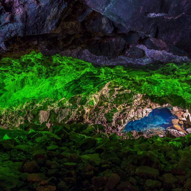 """Lava Cave"" stock image"