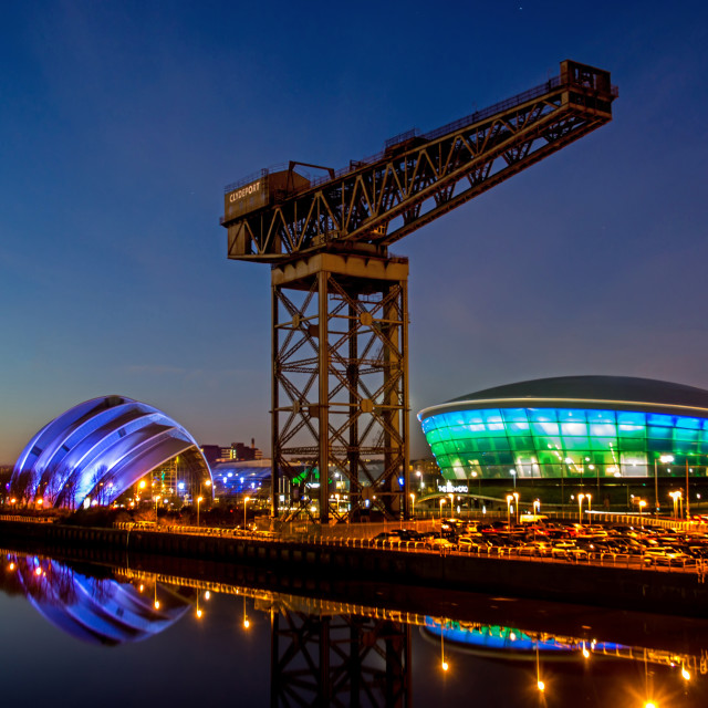 """Glasgow Landmarks"" stock image"