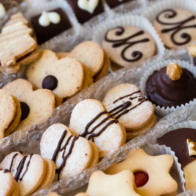 """Christmas cookies"" stock image"