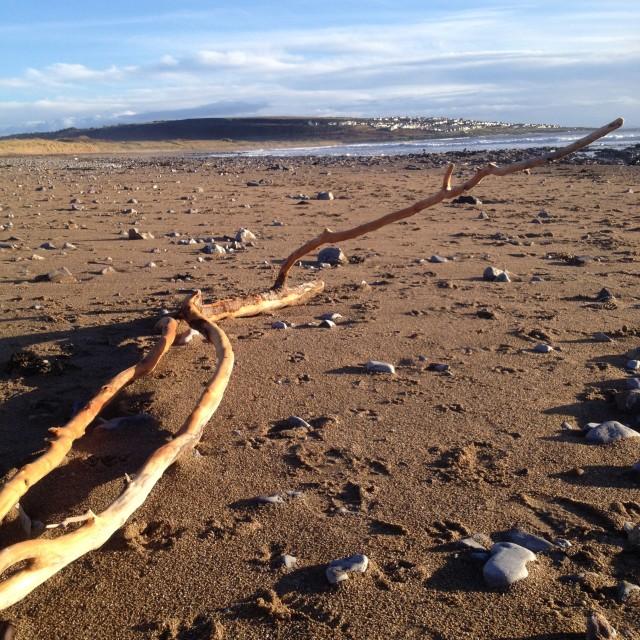 """Newton Beach - South Wales"" stock image"