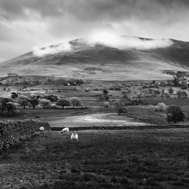 """Clough Head"" stock image"