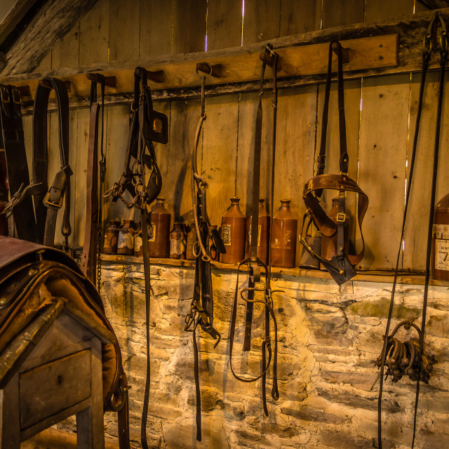 """The Tack Room"" stock image"