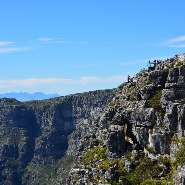 """Table Top Mountain I"" stock image"